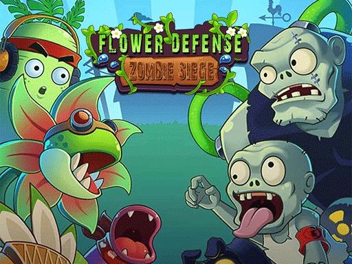 Flower Defense - Zombie Siege